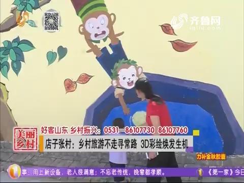 店子张村:乡村旅游不走寻常路  3D彩绘焕发生机