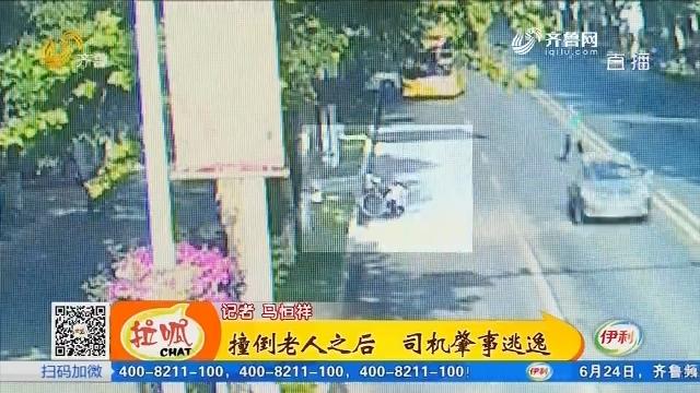 【凡人善举】淄博:撞倒老人之后 司机肇事逃逸