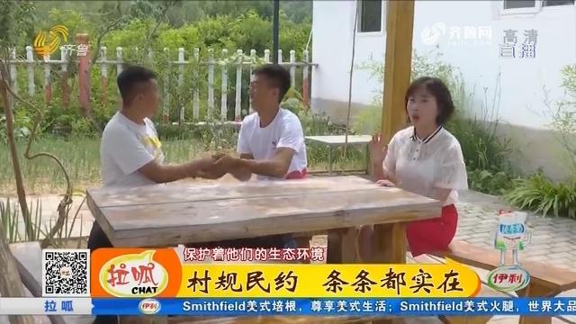 淄博:村规民约 条条都实在