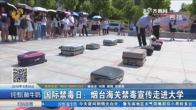 国际禁毒日:烟台海关禁毒宣传走进大学