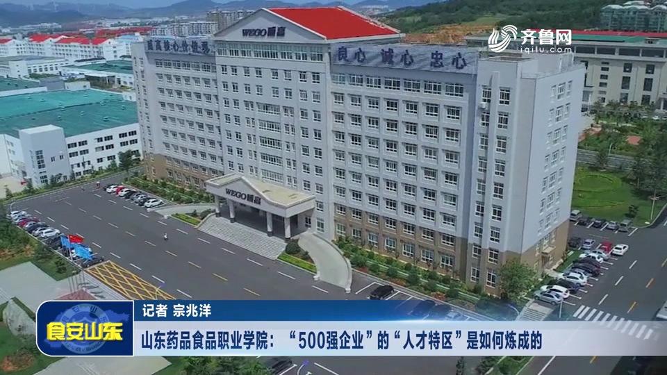 """龙都longdu66龙都娱乐药品食品职业学院: """"500强企业""""的""""人才特区""""是如何炼成的"""