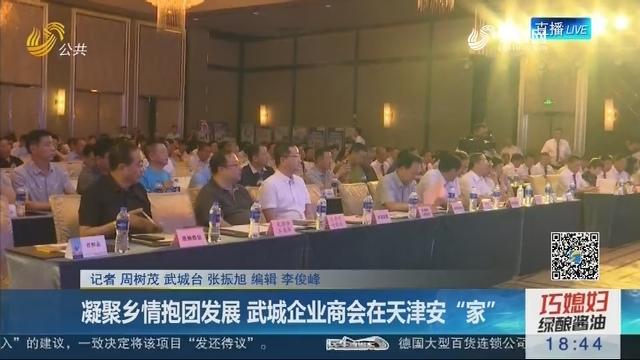 """凝聚乡情抱团发展 武城企业商会在天津安""""家"""""""