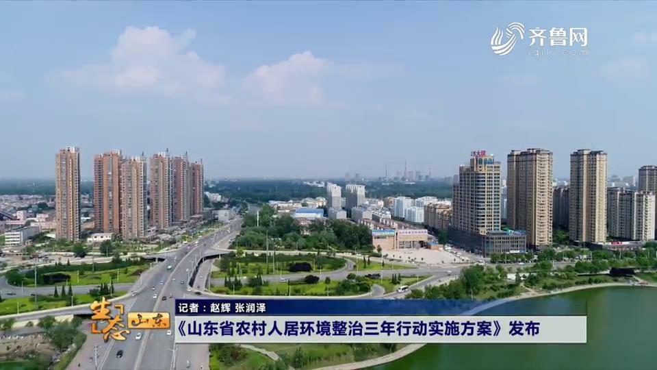 《山东省农村人居环境整治三年行动实施方案》发布