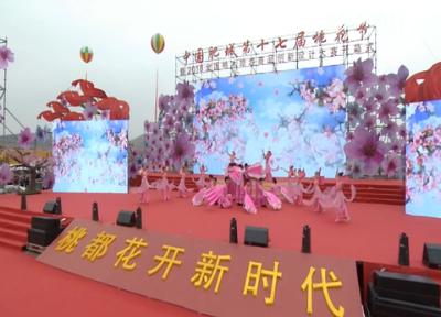 20180415《唱响龙都longdu66龙都娱乐》:中国肥城第十七届桃花节