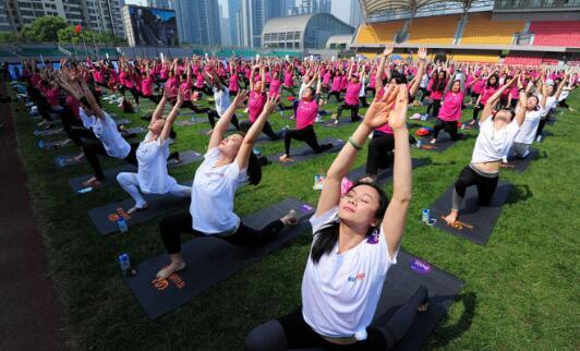 济南历城:千人共舞助力全民健身