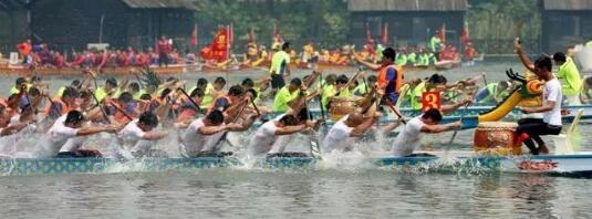 德州京津冀龙舟赛划出名堂