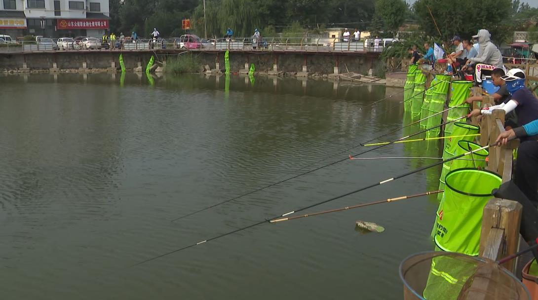 菏泽第八届全民健身运动会钓鱼比赛举行