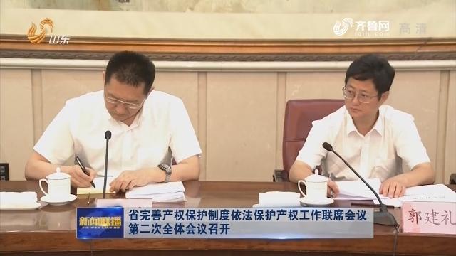 省完善产权保护制度依法保护产权工作联席会议第二次全体会议召开