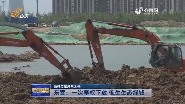 【敢领改革风气之先】东营:一次事权下放 催生生态绿城