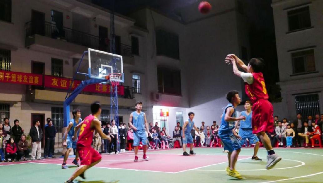 """""""银丰杯""""平阴县第四届篮球联赛开赛"""