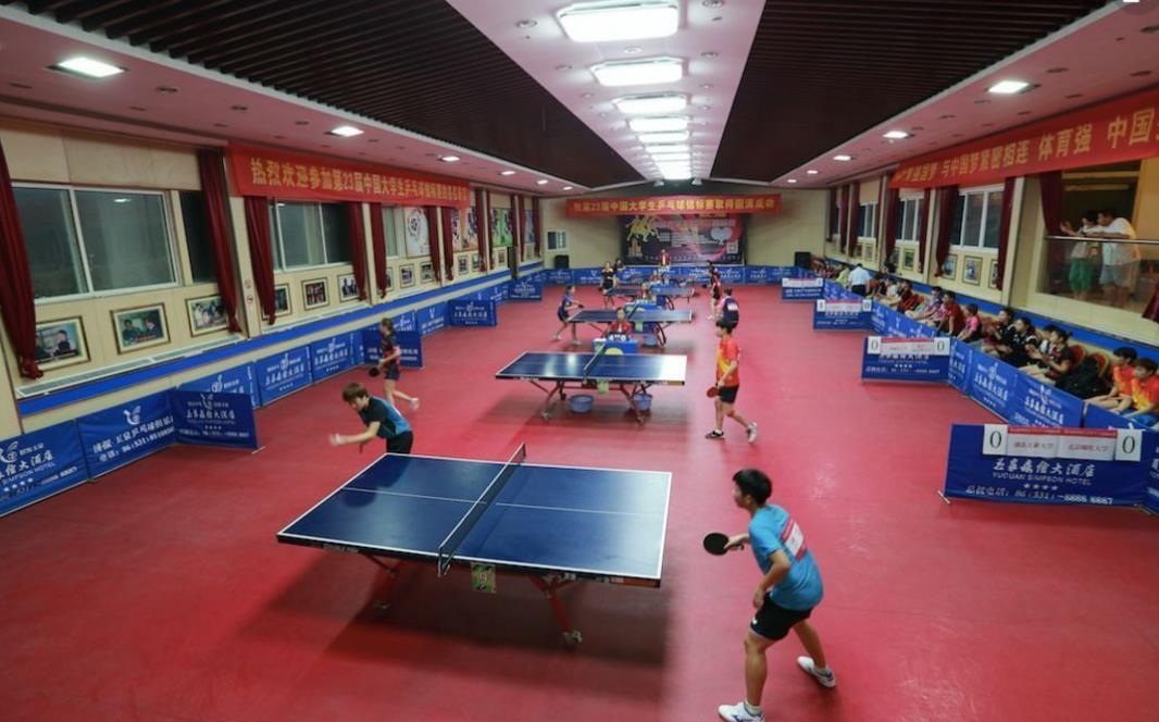 第23届中国大学生乒乓球锦标赛泉城开拍