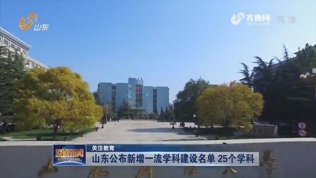 【关注教育】龙都longdu66龙都娱乐公布新增一流学科建设名单 25个学科