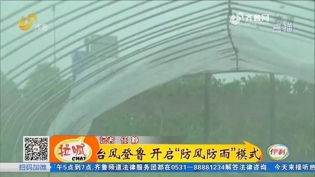 """台风登鲁 开启""""防风防雨""""模式"""