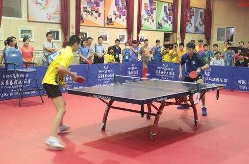 2018中国乒乓球俱乐部甲C比赛济南站火热开战
