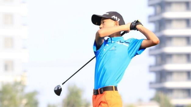 山东省青少年高尔夫巡回赛青岛国际站举行