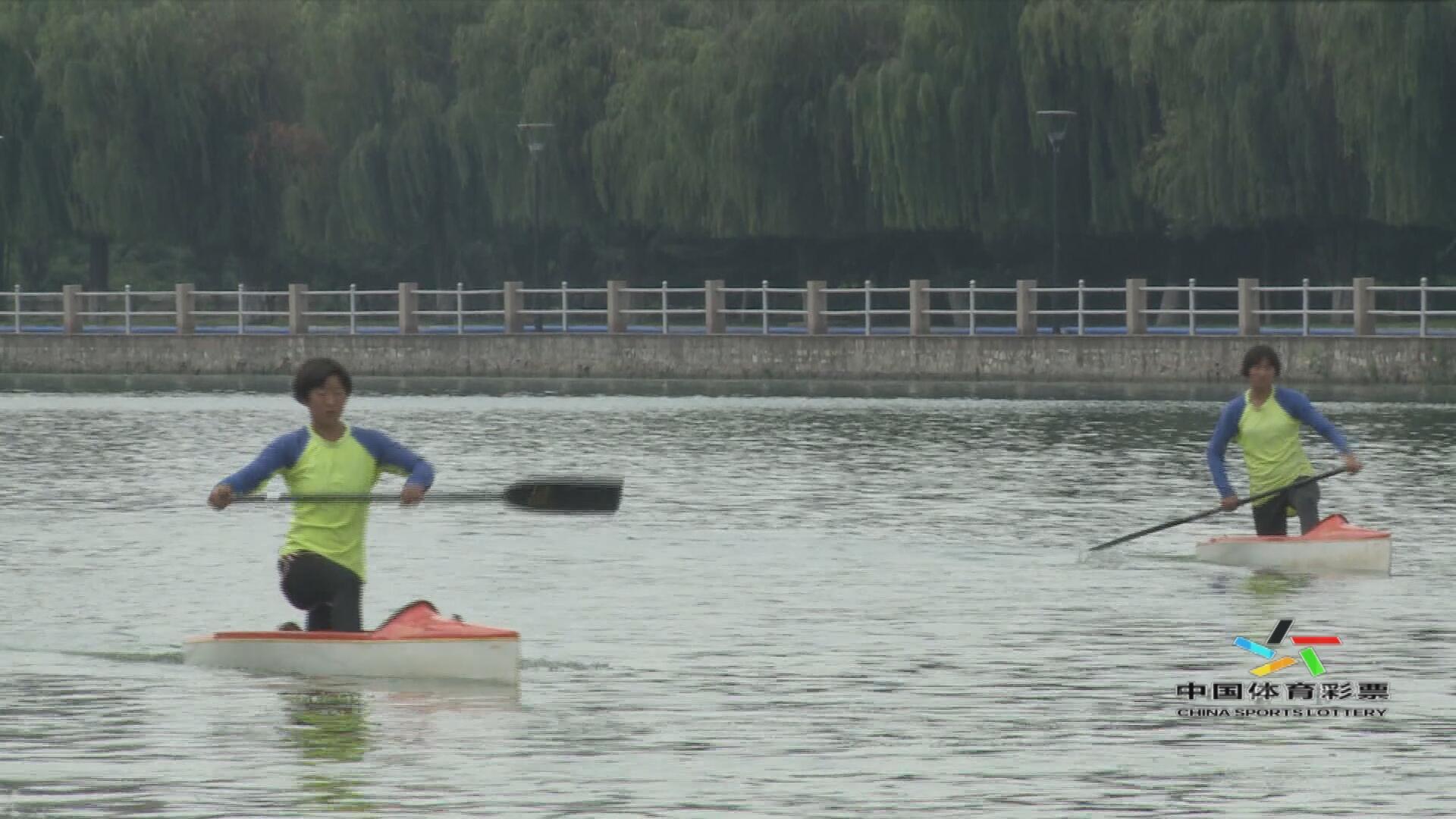 莱阳:皮划艇训练基地揭面纱