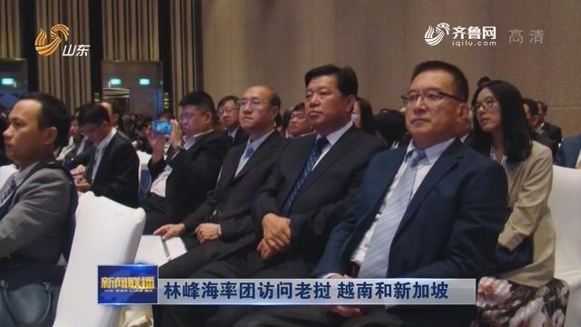 林峰海率团访问老挝 越南和新加坡