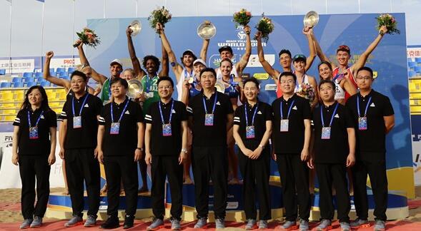 2018国际排联世界沙滩排球巡回赛海阳公开赛完美收官