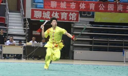 山东省第六届传统武术演武大会在聊城举行