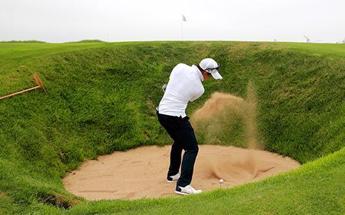 2018国际男子职业高尔夫巡回赛第八站走进海阳