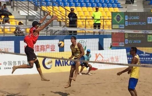 中国组合斩获铜牌  刷新男沙历史战绩