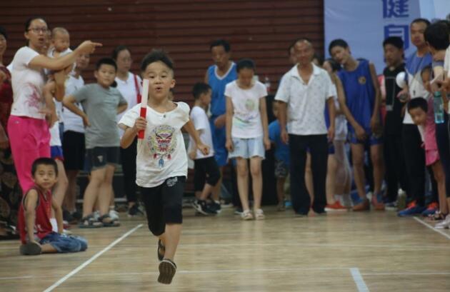 菏泽举办首届全民健身家庭运动会