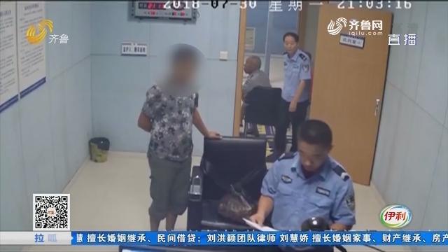 济宁:涉嫌超载 拒不配合交警检查