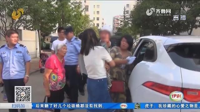 日照:高温天 一岁男童被困车内