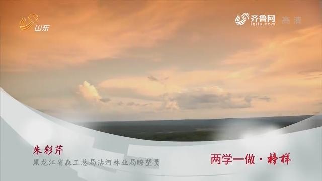 【新时代先锋】两学一做·榜样——朱彩芹