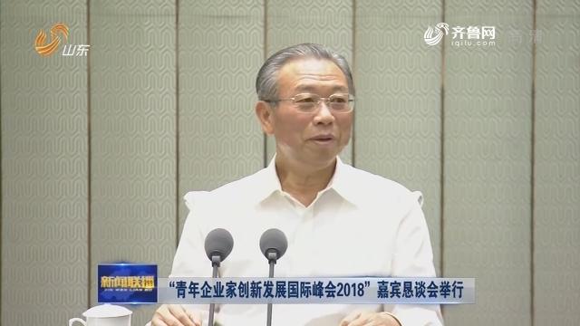 """""""青年企业家创新发展国际峰会2018""""嘉宾恳谈会举行"""