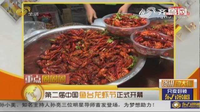 第二届中国鱼台龙虾节开幕