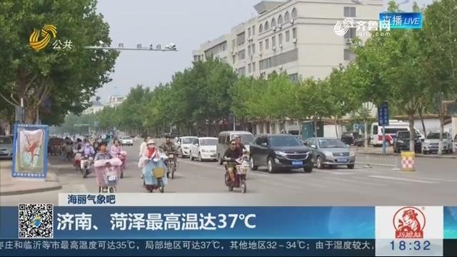 海丽气象吧:济南、菏泽最高温达37℃