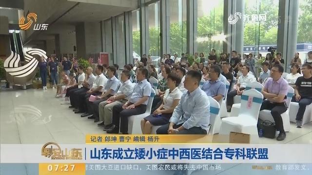 山东成立矮小症中西医结合专科联盟