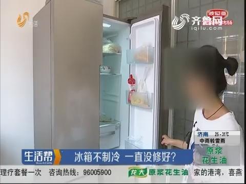 潍坊:冰箱不制冷 一直没修好?