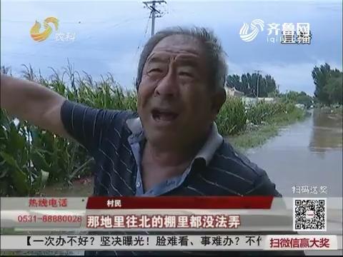 """【""""摩羯""""来袭】190毫米!强降雨导致青州谭坊受灾"""