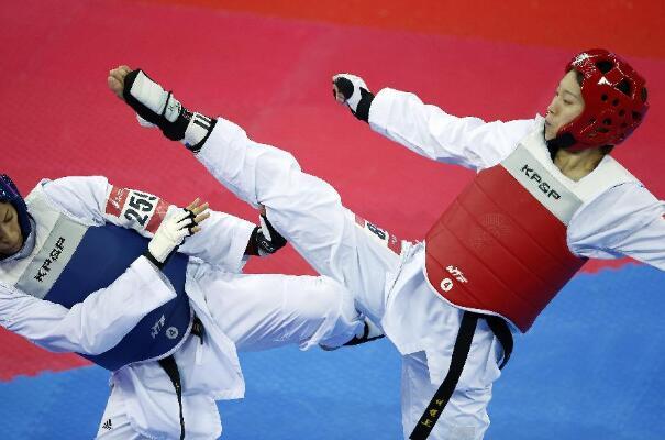 山东省第二十四届运动会跆拳道比赛落幕