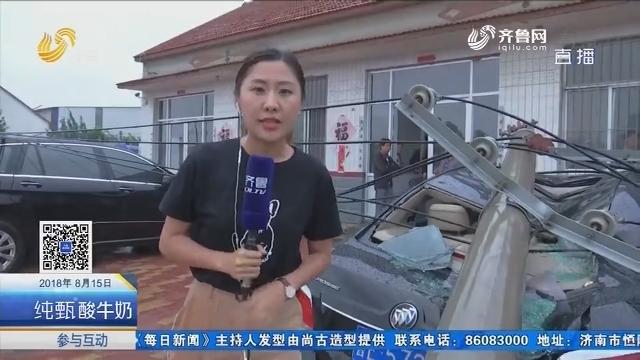 龙卷风袭击利津县盐窝镇