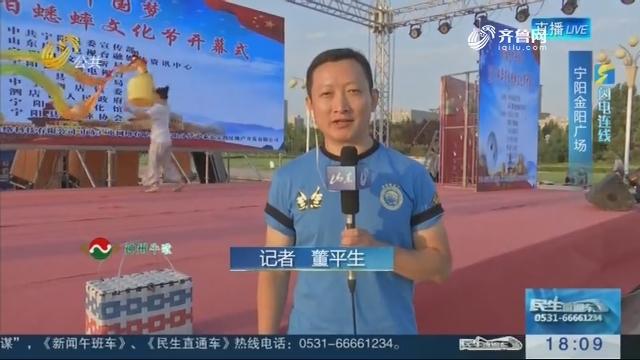 【闪电连线】蟋都唱响中国梦 2018宁阳蟋蟀文化节8月16日晚开幕
