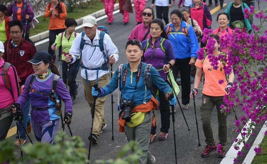 2018中国•济南第三届国际山地持杖徒步大会金秋开行