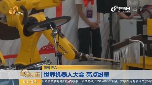 【闪电新闻排行榜】世界机器人大会 亮点纷呈