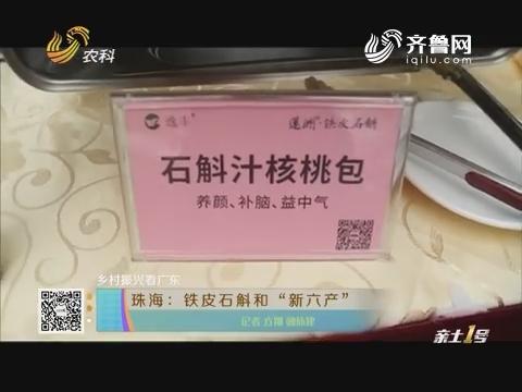 """【乡村振兴看广东】珠海:铁皮石斛和""""新六产"""""""