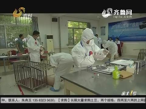 """动物防疫比高低""""技能兴鲁""""拔人才"""