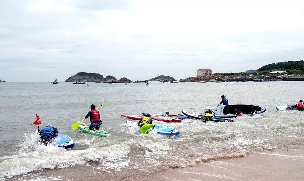 2018第二届国家桨板邀请赛在威海举行