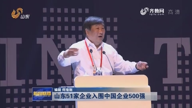 山东51家企业入围中国企业500强