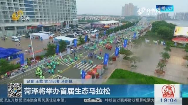菏泽将举办首届生态马拉松