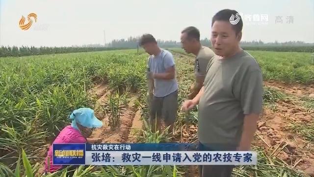 【抗灾救灾在行动】张培:救灾一线申请入党的农技专家