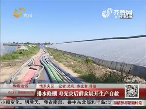 【情系灾区】排水修棚 寿光灾后群众展开生产自救