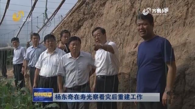 杨东奇在寿光察看灾后重建工作