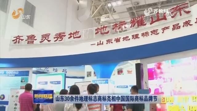 山东30余件地理标志商标亮相中国国际商标品牌节