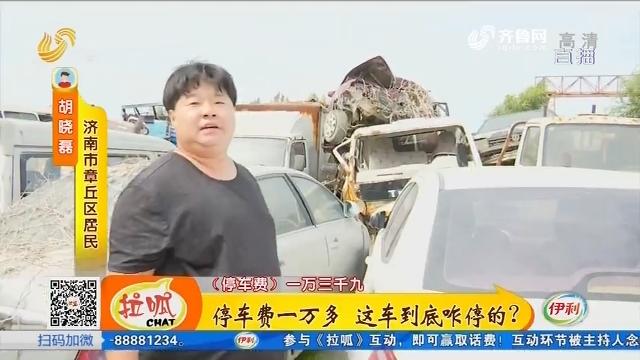 济南:停车费一万多 这车到底咋停的?